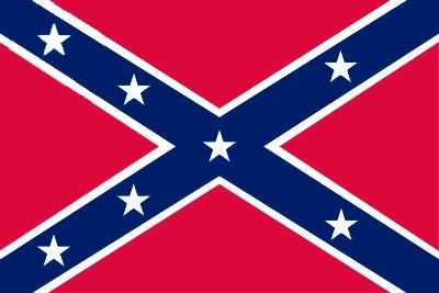 Bandera Estados Confederados de América 1861