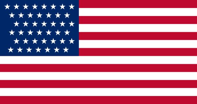 Bandera Estados Unidos (1890 - 1891)