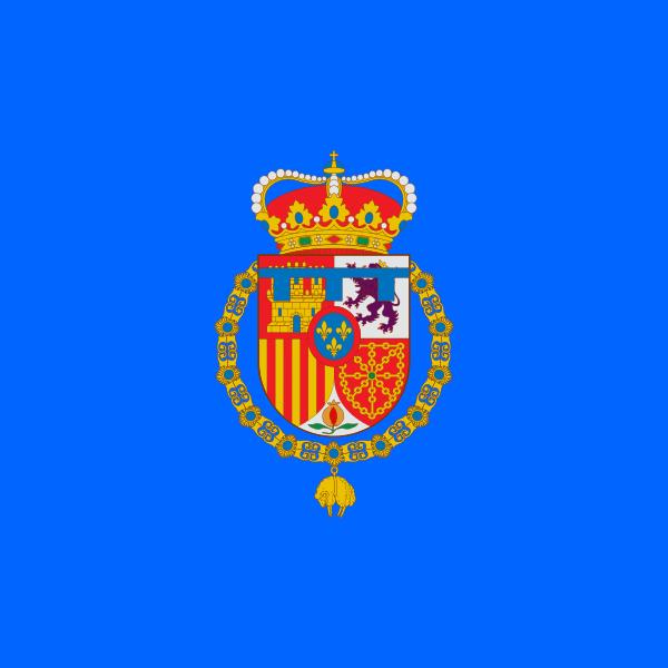 Bandera Estandarte del príncipe de Asturias