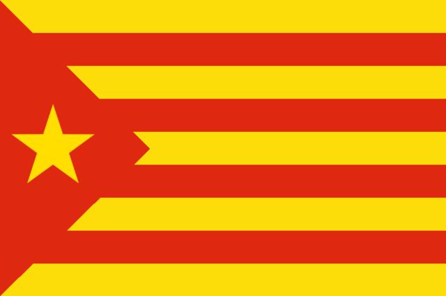 Bandera Estelada Roja