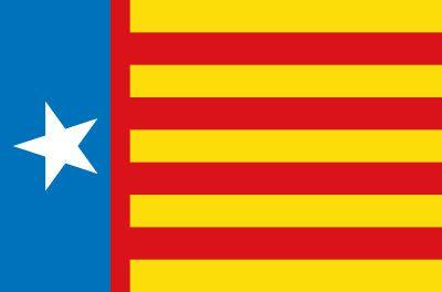 Bandera Estrelada valencianista Pendón