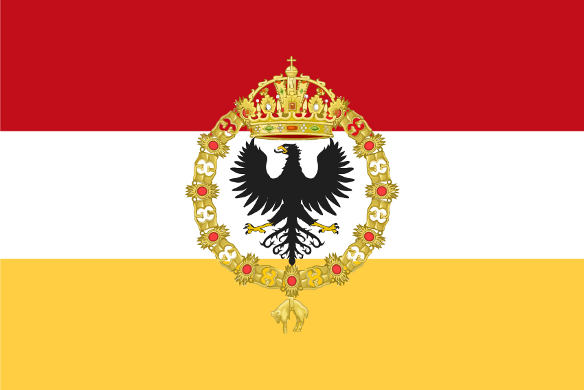Bandera Galeones España Carlos V