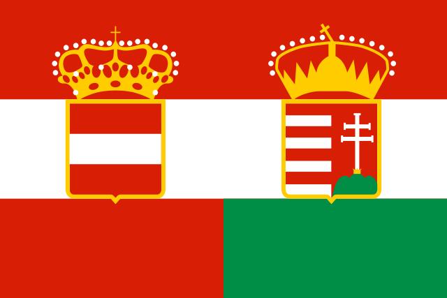 Bandera Imperio Austro Húngaro