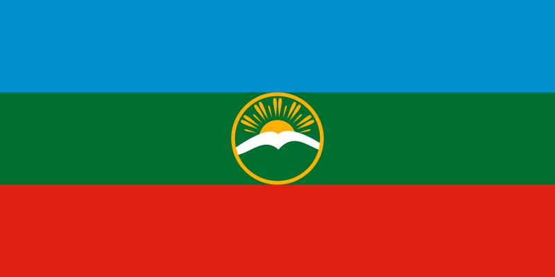 Bandera Karacháyevo-Cherkesia