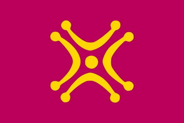 Bandera Lábaro cántabro