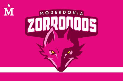 Bandera Moderdonia Zorroooos