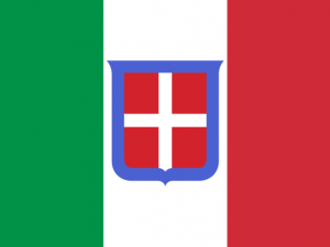 Bandera Nacional del Reino de Italia (1861-1946)