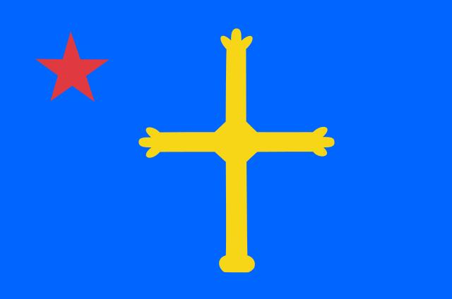 Bandera Nacionalismo asturiano
