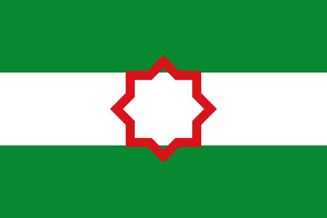 Bandera Nacionalista andaluza