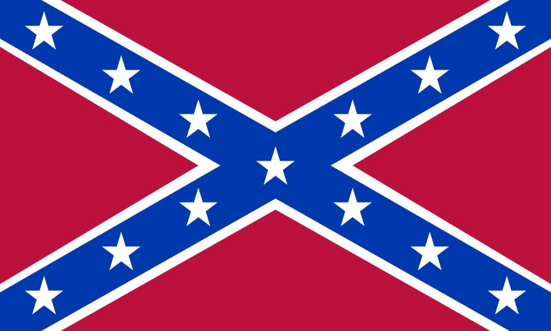 Bandera naval de la Confederación