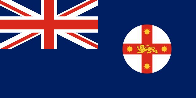 Bandera Nueva Gales del Sur
