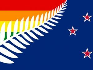 Bandera Nueva Zelanda GAY