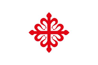 Bandera Orden de Calatrava blanca