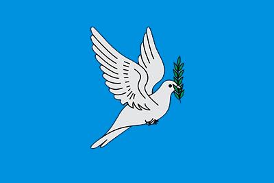 Bandera Paloma de la Paz