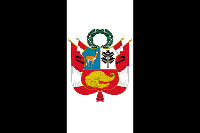 Bandera Perú luto