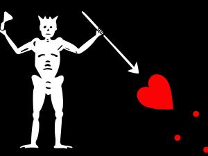 Bandera Pirata Barbanegra