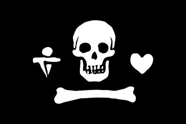 Bandera Pirata de Stede Bonnet