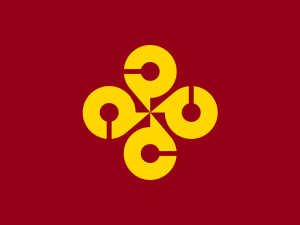 Bandera Prefectura de Shimane