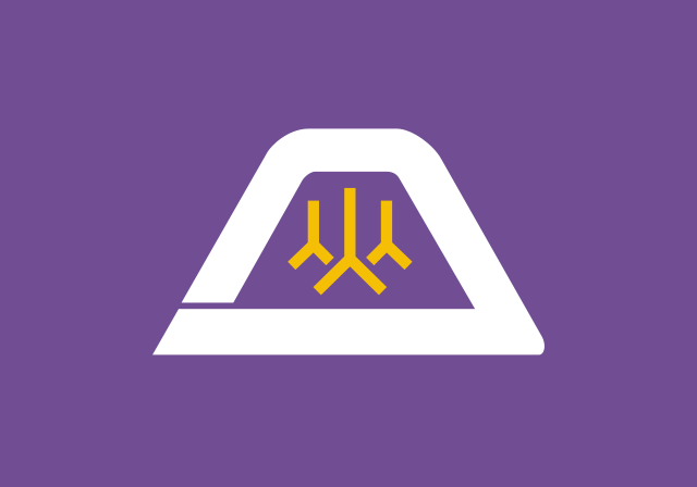 Bandera Prefectura de Yamanashi