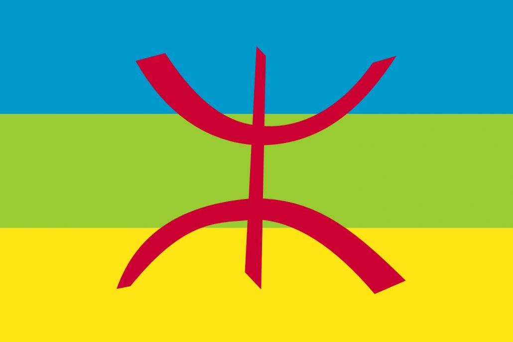 Bandera Pueblo Bereber