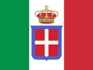 Bandera Reino de Italia (1861-1946)