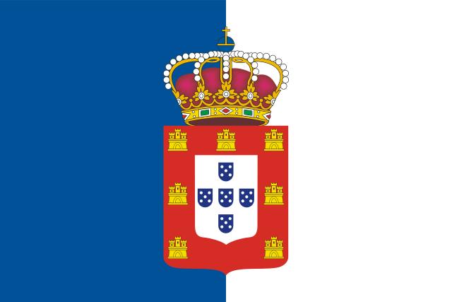 Bandera Reino de Portugal (1139-1910)