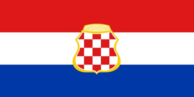 Bandera República Croata de Herzeg-Bosnia