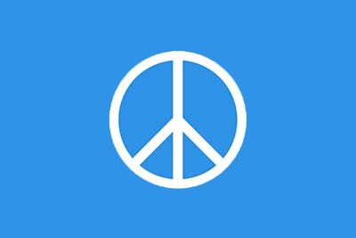 Bandera Símbolo de la Paz