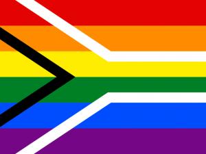 Bandera Sudáfrica Gay