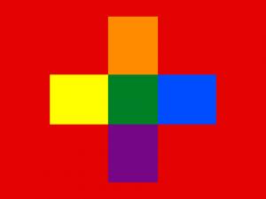 Bandera Suiza GAY