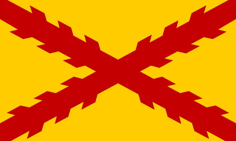 Bandera Tercios morados viejos