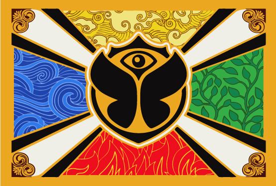Bandera Tomorrowland