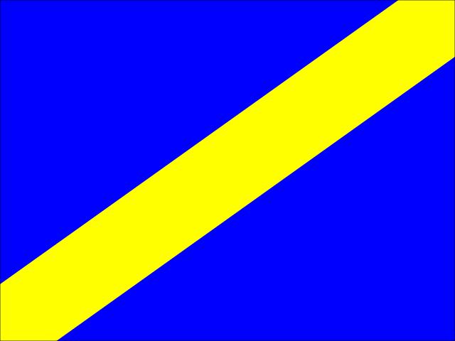Bandera Vehículo más rápido aproximándose