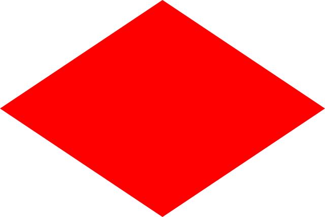 Bandera Abecedario Náutico CIS - F Foxtrot