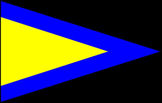 Bandera Abecedario Náutico CIS - RPT 1