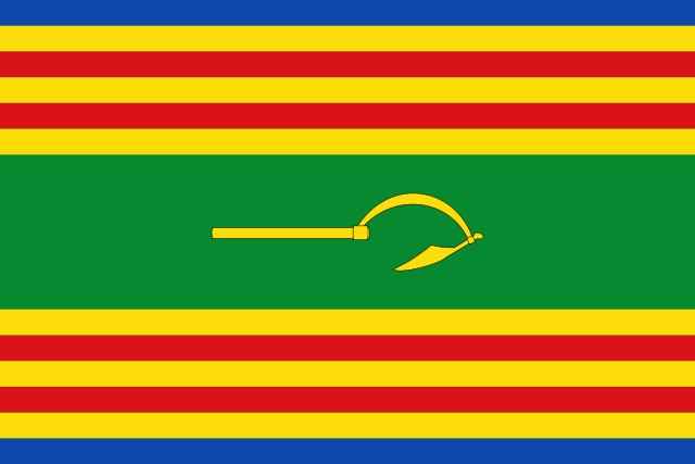 Bandera Aladrén
