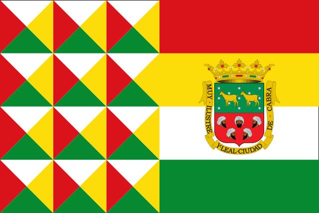 Bandera Cabra (Córdoba)