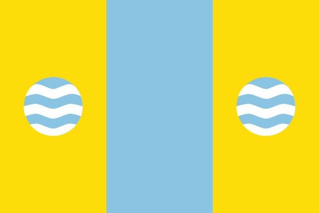 Bandera Gimenells i el Pla de la Font