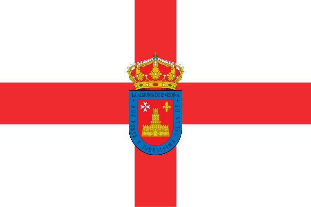 Bandera La Almunia de Doña Godina