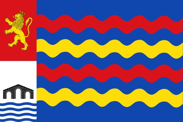 Bandera La Puebla de Alfindén