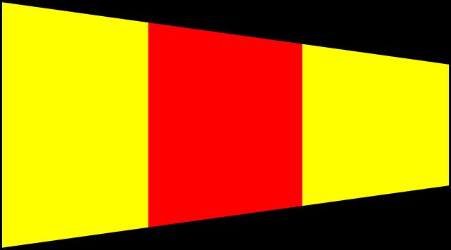Bandera Náuticas número 0 CIS