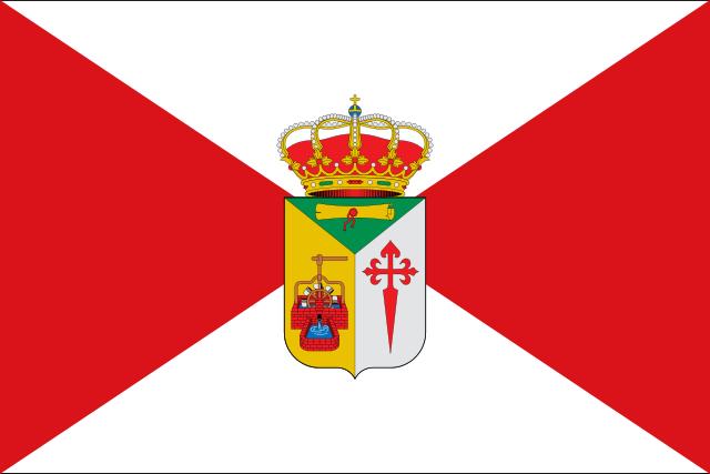 Bandera Pozorrubio de Santiago