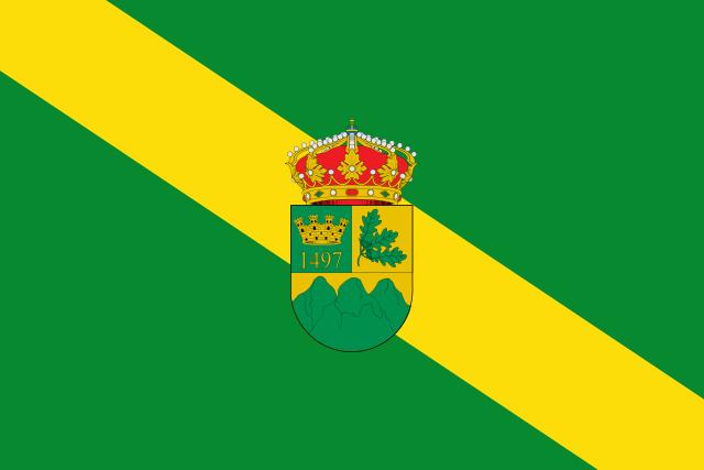 Bandera Puebla de la Sierra