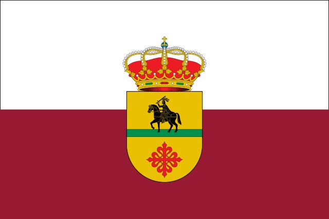 Bandera Santiago de Calatrava