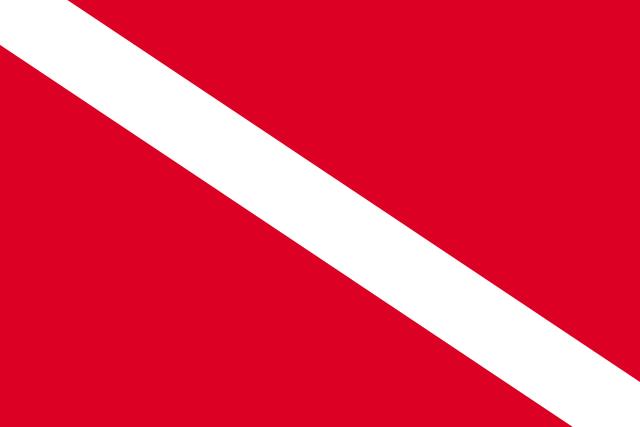 Bandera Submarinista sumergido