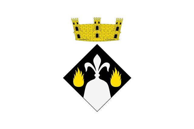 Bandera Fogars de Montclús