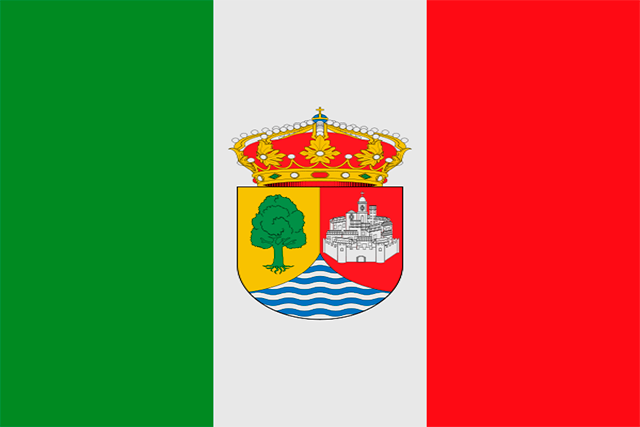 Bandera Fresno de la Ribera