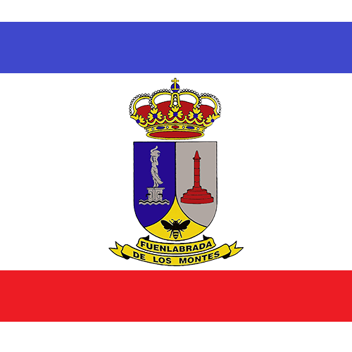 Bandera Fuenlabrada de los Montes