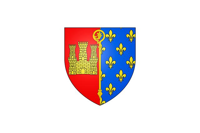Bandera Saint-Ouen-l´Aumône