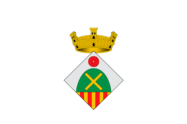 Bandera Sant Vicenç de Montalt
